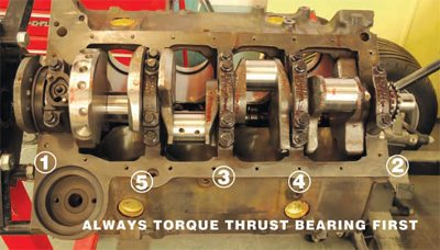 Chevy Small-Block Firing Order and Torque Sequences 4