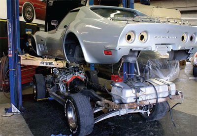 C3 Corvette Restoration Disassembly and Storage 11
