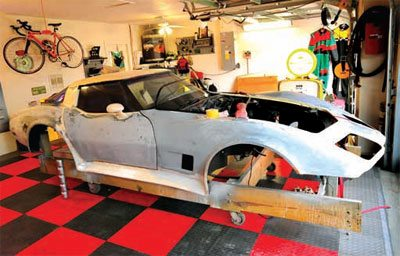 C3 Corvette Restoration Disassembly and Storage 18