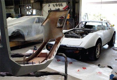Bodywork and Paint Prep: C3 Corvette Restoration Guide 19