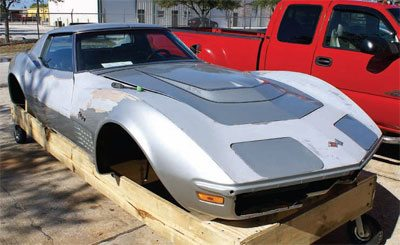 Bodywork and Paint Prep: C3 Corvette Restoration Guide 22