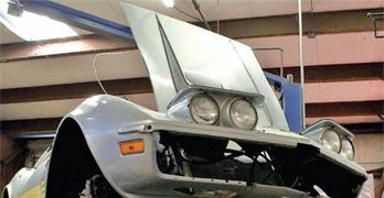 C3 Corvette Restoration Disassembly and Storage