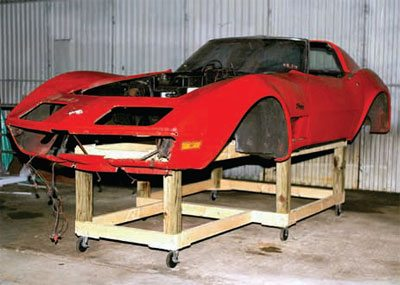 Bodywork and Paint Prep: C3 Corvette Restoration Guide 4