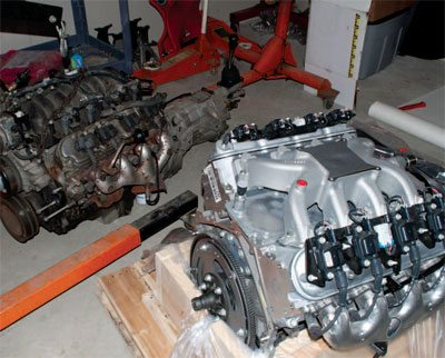 How to Swap an LS Engine into Your Chevelle - Step by Step 4