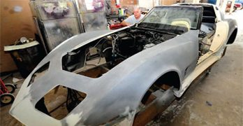 Bodywork and Paint Prep: C3 Corvette Restoration Guide