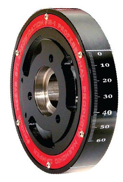 Fig. 2.34. The Professional Products 7.6- or 8-inch dampener is my preference for a top-performing entry-level crank dampener. I have used them for many years and have seen good dyno results and zero problems.