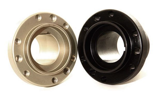 Fig. 2.39. Both ATI and BHJ offer an aluminum hub option. This saves about 11⁄2 pounds.