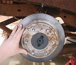 Installing the Brake Rotors