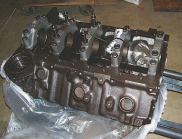 Locator services make it much easier to find serviceable original blocks for your restoration or performance engine build. They actively seek and stockpile original blocks and other parts with desirable casting numbers and other identifiers. (Photo Courtesy Vintage Big Blocks)
