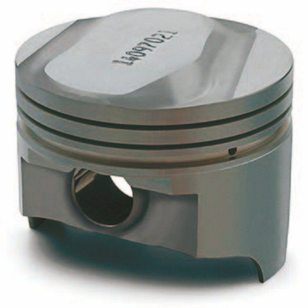 Factory replacement pistons are always a good choice even though they are often more expensive than aftermarket versions. If you are doing a full-bore restoration, you may wish to include factory pistons if they're available. However, the aftermarket offers more choices and additional features such as skirt coatings.