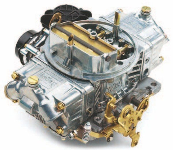 Chevrolet Performance sells replacement Holley carburetors for all big-block applications. Most are vacuum secondary, but suppliers such as Scoggin-Dickey can supply mechanical secondary double-pumpers if required.