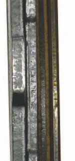 Steel and friction plates may come in several thicknesses. Shown here are direct and forward steel and friction plates used in the TH400 transmission. The thicker steel plates were used in the direct drum, while the thinner steel plates were used in the forward drum. This may not always be the case, but is the general rule for this particular transmission. It is quite common to find thick and thin steel plates in the same drum, or the thin plates may be used to add frictions, thus creating more space.