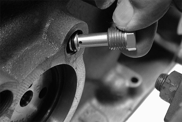 While oil restrictors were popular in the 1970s and 1980s, they have no place in today's performance engines and should never be used with any kind of street engine since they only cause excessive heat and wear in the valvetrain. Never use oil restrictors in a small-block Chevy street engine.