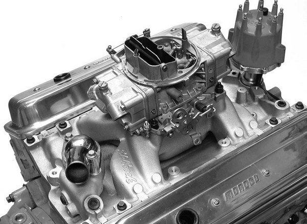 It's hard to beat the combination of a 750-cfm mechanical secondary Holley carburetor on top of an Edelbrock Performer RPM Air Gap intake for most mild performance small-block Chevys. This is a great combination that just seems to work on almost any street engine package.