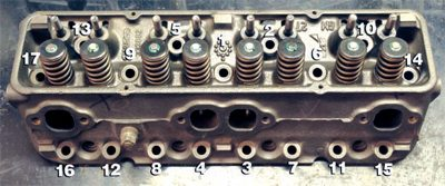 Chevy Small-Block Firing Order and Torque Sequences 3