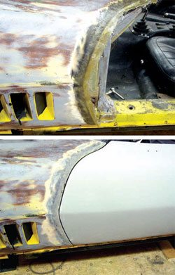 Bodywork and Paint Prep: C3 Corvette Restoration Guide 09