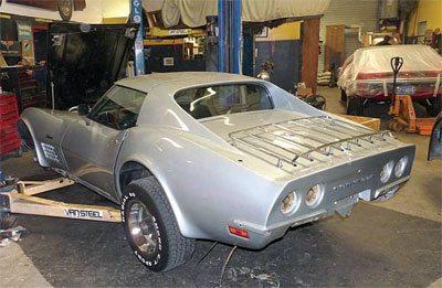 C3 Corvette Restoration Disassembly and Storage 10