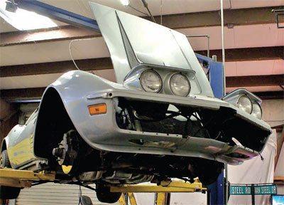 C3 Corvette Restoration Disassembly and Storage 1