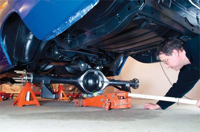 How to Convert to Coil-Over Suspension in Your Chevelle - Step by Step