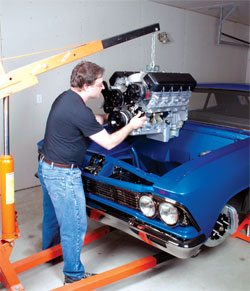How to Swap an LS Engine into Your Chevelle - Step by Step 1