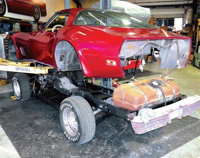 Body Installation: C3 Corvette Restoration Guide