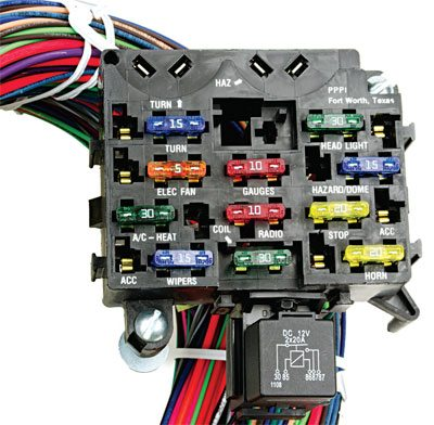 2119 how to upgrade the wiring and elecrtical in your chevelle step jegs universal wiring harness at fashall.co