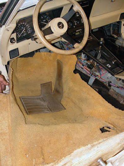 C3 Corvette Restoration Disassembly and Storage 29