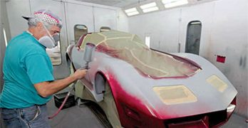 Painting: C3 Corvette Restoration Guide