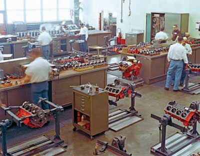 Development and Design of the 348-409 Chevy Engine