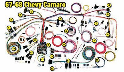 camaro electrical guide: how to restore your chevy camaro stepstep, Wiring diagram