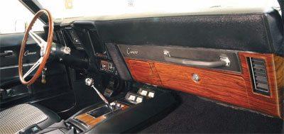 Camaro Restoration Guide: Interior Cheat Sheet #1
