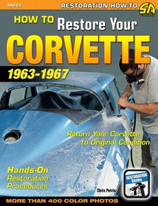 work Guide for C2 Corvette Restoration - Step by Step on