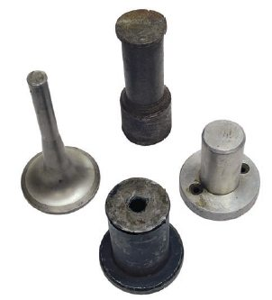 Bushing drivers can be fabricated from just about anything with a wide flat surface and some sort of a handle on it, such as old engine valves.