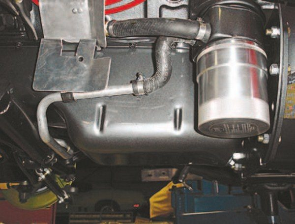 Engine Oil Cooler Works : C corvette upgrading performance cooling systems chevy diy