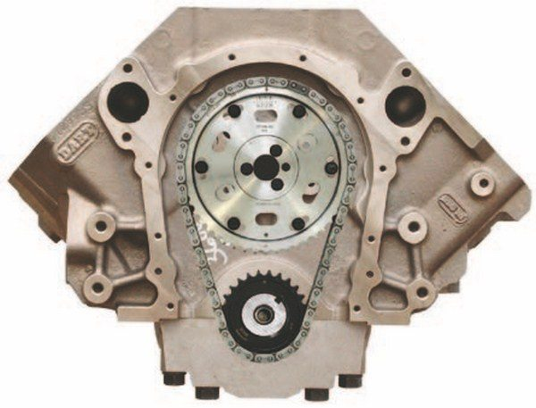 High-performance Mark IV applications can step up to single- or double-roller race-style timing chains with billet timing gears for added durability