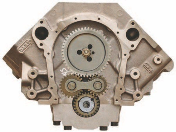 Gear drives are often preferred for off-road and marine applications. Some fit under a stock timing cover while others come with their own specialty cover depending on the vendor and the application