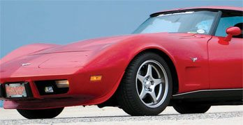 C3 Corvette: Wheels and Tire Upgrades