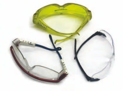 A good pair of safety glasses with plastic or impact-resistant lenses is a must for transmission work.
