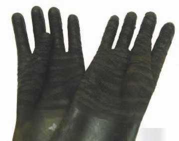Wear heavy-duty gloves if using a parts washer and solvents. They also offer some degree of protection when handling transmission cases during the cleaning process; sharp edges can leave some pretty nasty cuts.