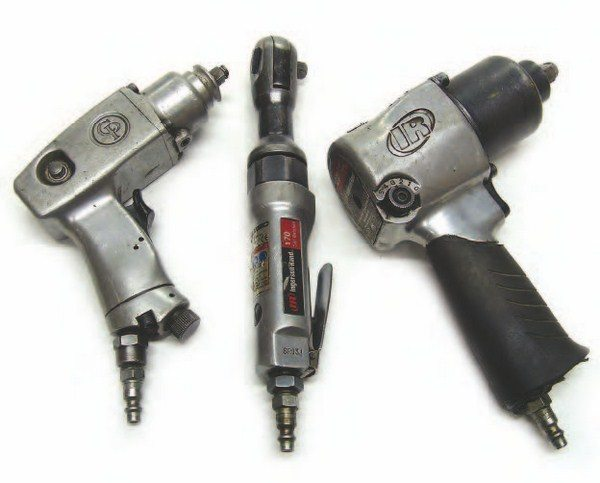Air tools can save a lot of time during a transmission build. Even so, make sure they are going in the right direction when removing bolts, which are easy to strip out of the soft aluminum cases.