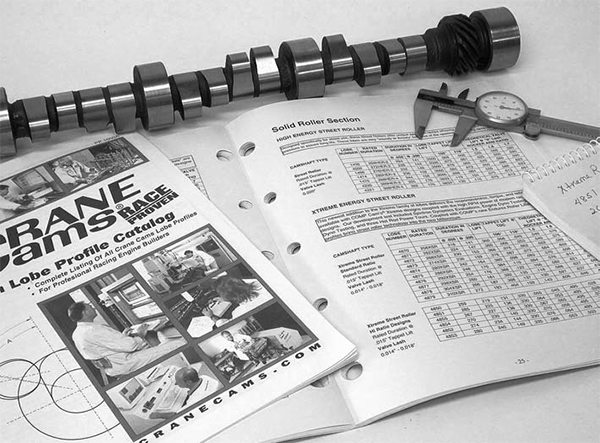 As you learn more about camshafts, you may discover that the cam you want is not listed in your favorite cam catalog. The best place to start is by looking in each cam company's cam lobe Master Catalog.