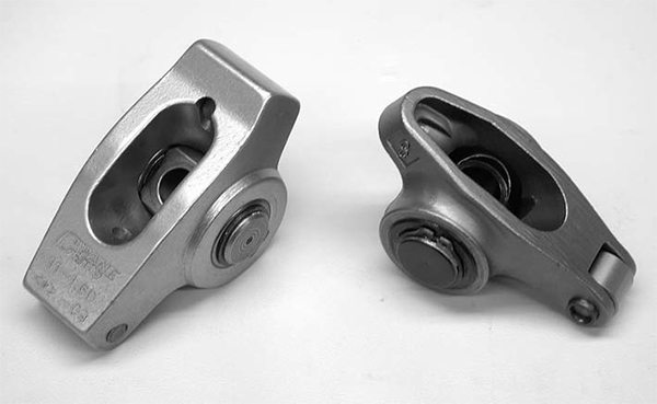 One advantage to COMP steel roller rockers is that these rockers can be rebuilt by sending them back to COMP where they are disassembled, inspected, and the required parts are replaced.