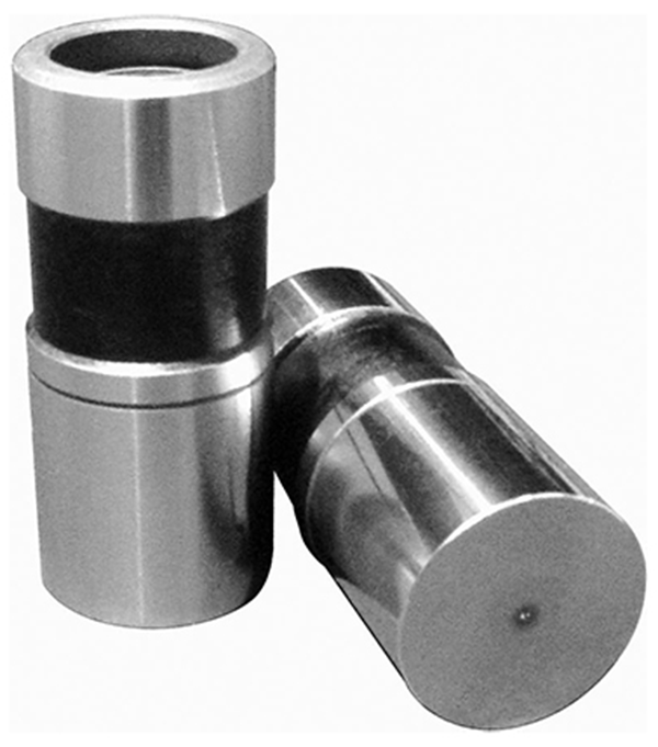 In the world of racing flat tappet lifters faced with high spring pressure loads, COMP has come up with a 0.875-inch diameter lifter with a special 0.012-inch hole drilled in the center of the face to apply direct lubrication to the lifter-lobe interface. Plus, evidence suggests that this oil contributes to a slight smoothing of the lifter acceleration profile.