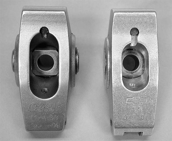 An example of attention to detail in the valvetrain is the slots cut into the GMPP 1.6:1 roller rockers used in the Hot cam hydraulic roller cams for both early small-blocks and LT1 engines. The slot is shorter in length, which limits its maximum lift, but this reduced slot length also adds strength to a rocker, reducing deflection by as much as 30 percent.