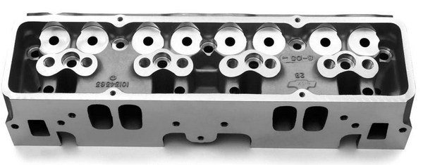 GM Performance Parts offers a wide range of race heads for the smallblock in both 15 and 18-degree versions as well as a splayed valve head. All require custom valve gear and shaft rocker systems.