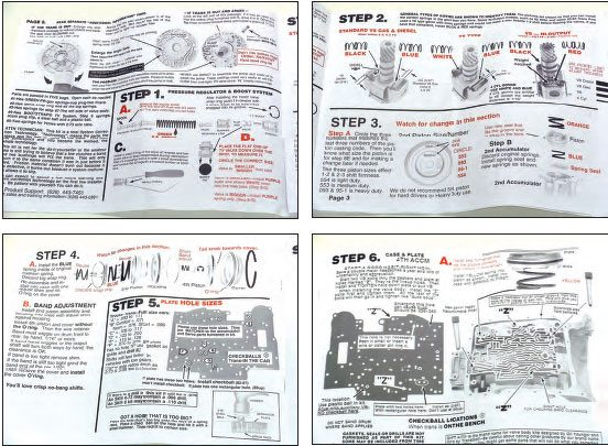 Gm Automatic Overdrive Transmissions Shift Kit Guide Chevy Diy